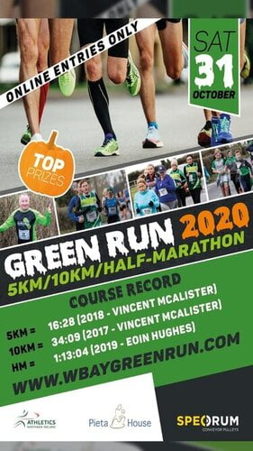 Washingbay Green Run 2020